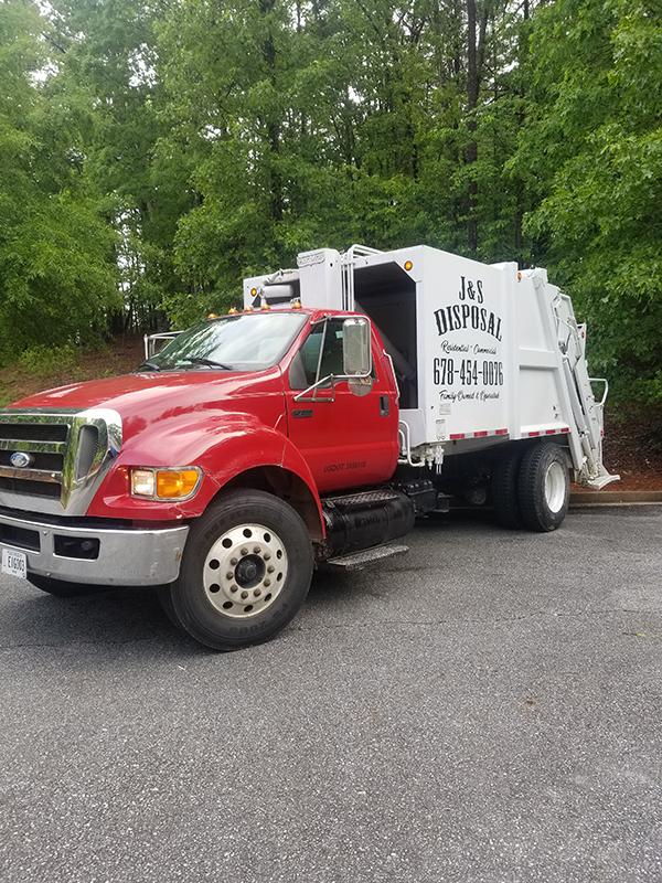 J&S Disposal Truck